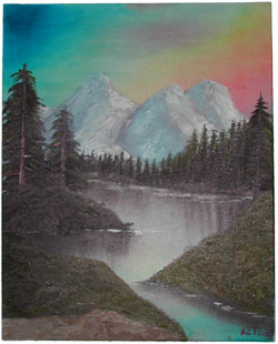 Bob Ross Effort - Landscape